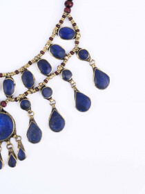 Blue Three Layered Necklace