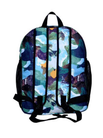 MULTI COLORED MARBLE BACKPACK