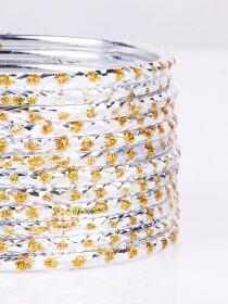 Aluminium Jazzy Bangles