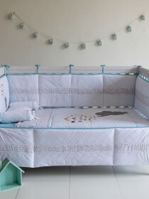 Hatari 9 Pcs Cot Bedding Sets