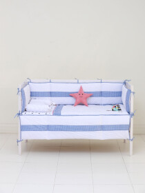 Whistling Train 10 Pcs Cot Sets