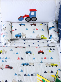 Pixar Cars Baby Cot Bedding Set