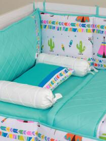 Wigwam Baby Cot Bedding Set