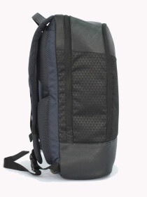 BLACK TRAVEL DUFFEL BACKPACK