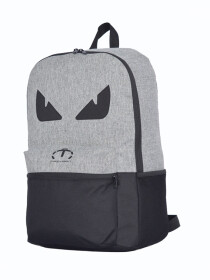 GREY & BLACK EYES BACKPACK