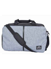 GREY DUFF GYM BAG