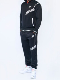 Black & White Tracksuit for Men