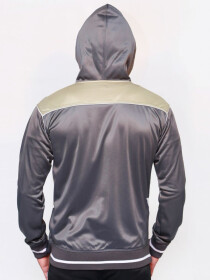 Dark Grey Men's Workout Hoodie