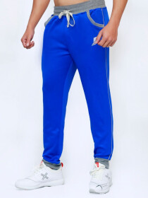 Royal Blue Active wear Trouser for Men