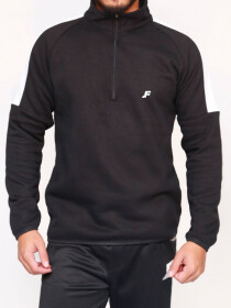 Black & White Pullover Windbreaker for Men