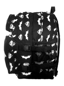 BLACK BATMAN VS SUPERMAN BACKPACK
