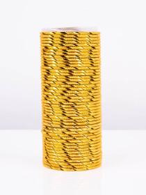 Gold Glitzy Aluminium Bangles