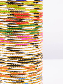 Multi Colored Rival Aluminium Bangles
