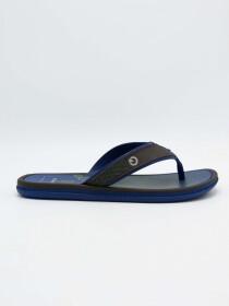 Cartago Blue Brown Slipper for Men