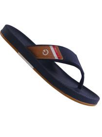 Cartago Black Black Beige Slipper for Men