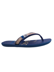 Cartago Blue Beige Slipper for Men