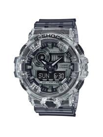 Casio G-Shock Mens Transparent Analog-Digital