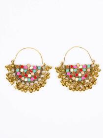 Rubans Circular Hoop Earrings