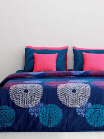 Bohemian Blue Bed Sheet