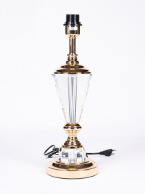 Solid Crystal Brass lamp
