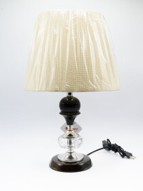 A Pair of Vienna Full Spectrum Beveled Crystal Urn Table Lamp