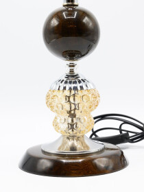 A Pair of Glowo Mercury Glass Table Lamp
