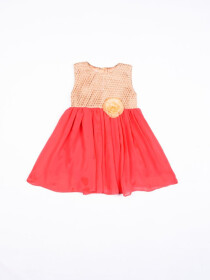 Chiffon Frock For Girls