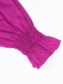 Smocking Top Purple For Girls