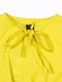 Smocking Top Yellow For Girls