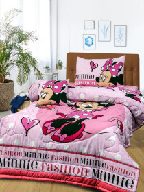 Printed Mickey Mouse 4 Pcs Kids Comforter