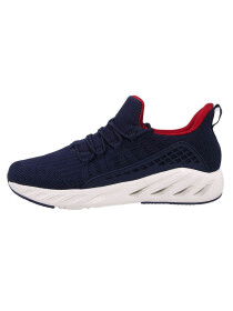 MEN'S RUNNING SHOE NAVY/DK.RED