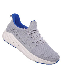 MEN'S RUNNING SHOE LT.GREY/ROYAL