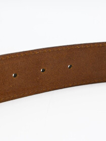 Men Cow Leather Suede Belt