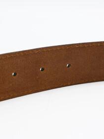 Men Cow Leather Suede Belt