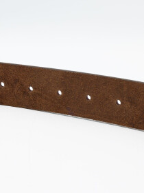 Men Cow Leather Plain Belt