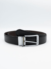 Men Cow Leather Mild Two Way Belt