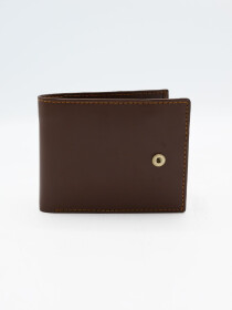 Brown Cow Leather Loop Wallet for Men