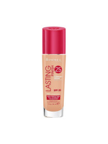 Rimmel London, Lasting Finish 24 Hour Foundation, Natural Beige, 30 ml