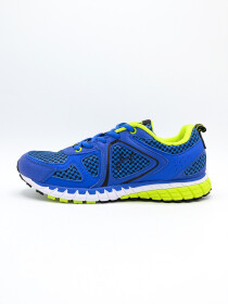 MEN'S RUNNING Grey-MD-BLUE-YELLOW