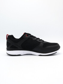 MEN'S RUNNING SHOE Black-DK-RED