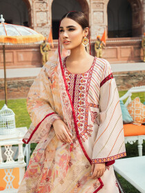 Kaasni by Panache Embroidered Lawn Unstitched 3 Piece Suit