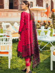 Kaasni by Panache Organza Embroidered Lawn Unstitched 3 Piece Suit
