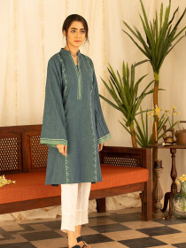 Streak Stitched Kurti For Women