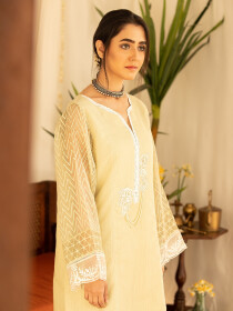 Nightingale Stitched Kurti For Women