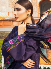 Kaasni by Panache Cambric Embroidered Lawn Unstitched 3 Piece Suit