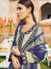 Kaasni by Panache Schiffli Embroidered Lawn Unstitched 3 Piece Suit