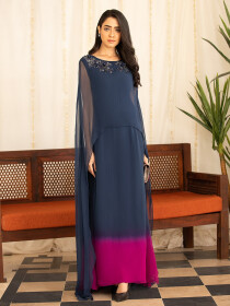 Sabeen 2 Piece Stitched Suit For Women