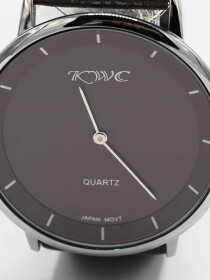 KWC quartz movement watch for men.