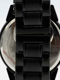 Traditional Quartz Black Dial BlackBracelet Men's Watch