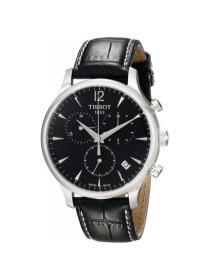 Tissot Men's T063 617 16 057 00 Black Dial Tradition